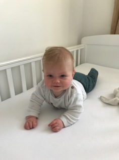 Testing out the cot