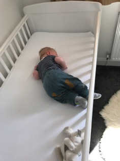 Early cot napping days